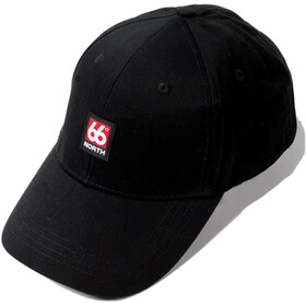 66° North Logn Patch Cap Black